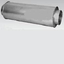 Rohrschalldämpfer NW 200 Packungsdicke 100-0