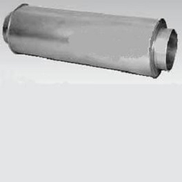 Rohrschalldämpfer NW 100 Packungsdicke 50-0