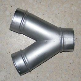 Y-Stück 45° NW 200 - 125 - 125-0